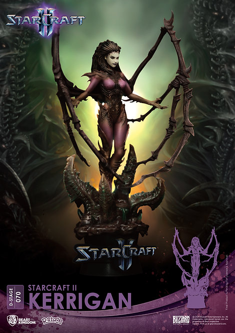 STARCRAFT II DS-070 KERRIGAN D-STAGE 6IN STATUE