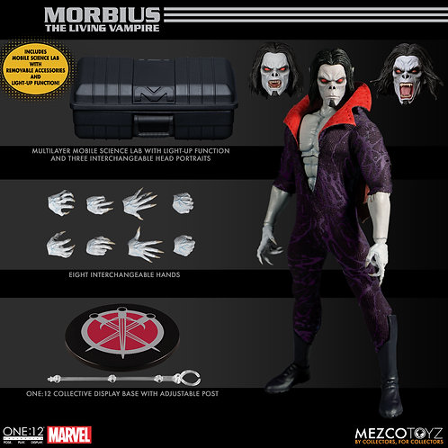 ONE-12 COLLECTIVE MARVEL MORBIUS AF SET