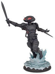 AQUAMAN MOVIE BLACK MANTA 1/9 SCALE POLYSTONE STATUE