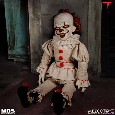 IT 2017 PENNYWISE 18IN ROTOCAST PLUSH DOLL