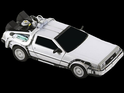 BACK TO THE FUTURE DIE-CAST VEHICLE TIME MACHINE