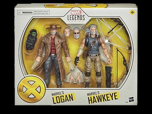 X-MEN MOVIE LEGENDS 6IN OM WOLVIE & OM HAWKEYE 2PK AF