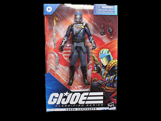 GI JOE CLASSIFIED SERIES 6IN COBRA COMMANDER