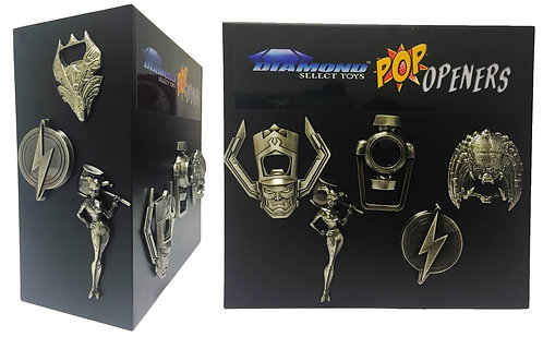 DST BOTTLE OPENER METAL DISPLAY & STORAGE CASE