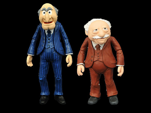 MUPPETS BEST OF SERIES 2 FIGURE Statler with Waldorf,