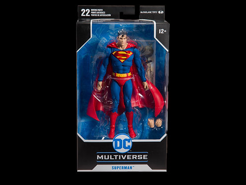 DC BATMAN/SUPERMAN WV1 MOD SUPERMAN 7IN SCALE AF