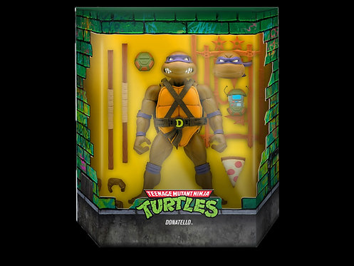 TMNT ULTIMATES WAVE 4 DONATELLO ACTION FIGURE