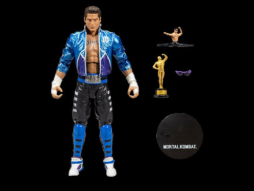 MORTAL KOMBAT 7IN SCALE WV2 Johnny Cage