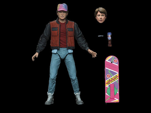 BACK TO THE FUTURE 2 MARTY MCFLY ULTIMATE 7IN AF