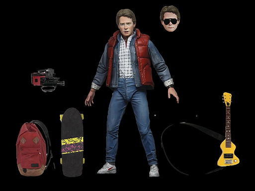 BACK TO THE FUTURE MARTY MCFLY ULTIMATE 7IN