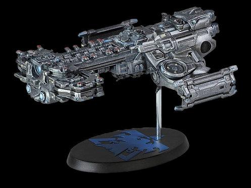 STARCRAFT TERRAN BATTLECRUISER SHIP REPLICA