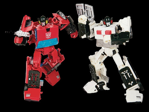 TRANSFORMERS GEN SELECTS CORDON & SPINOUT DLX AF