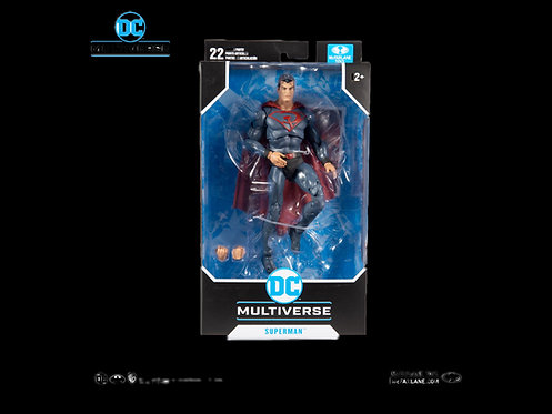 DC MULTIVERSE 7IN SCALE RED SON SUPERMAN