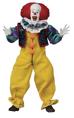 IT 1990 PENNYWISE 8IN RETRO