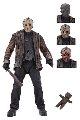 FREDDY VS JASON JASON VOORHEES ULTIMATE 7IN SCALE