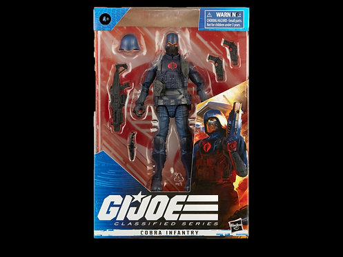 GI JOE CLASSIFIED SERIES 6IN COBRA INFANTRY AF