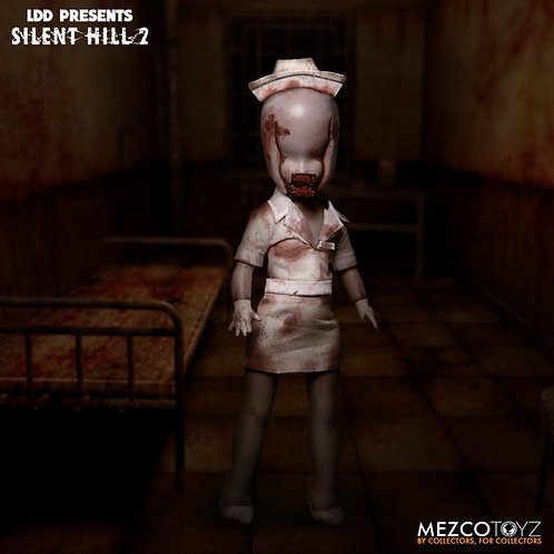 Pre-order/LIVING DEAD DOLLS SILENT HILL 2 BUBBLE HEAD NURSE DOLL