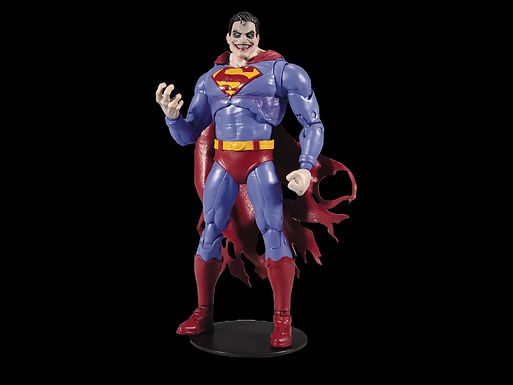 DC COLLECTOR BUILD-A WV2 SUPERMAN INFECTED 7IN