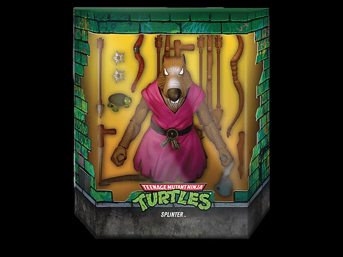 TMNT ULTIMATES WAVE 1 SPLINTER AF VERSION 2