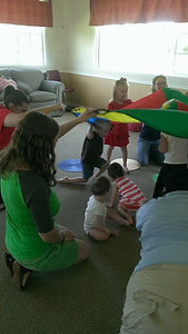 Music and Movement Parachute Game Madison Christian Church