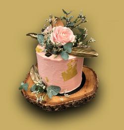 Gâteau d'anniversaire Fleurs