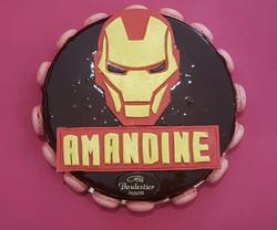 Gâteau d'anniversaire Ironman