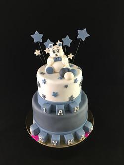 Gâteau d'anniversaire 1 an Garçon