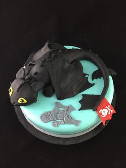 Gâteau d'anniversaire Dragon