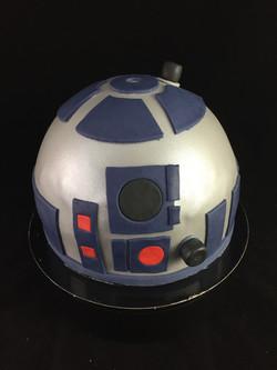 Gâteau d'anniversaire R2D2