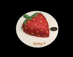 Gâteau d'anniversaire fraise