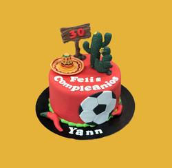 Gâteau d'anniversaire Mexique