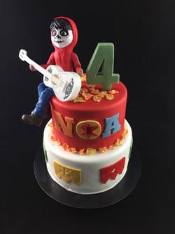Gâteau d'anniversaire Coco