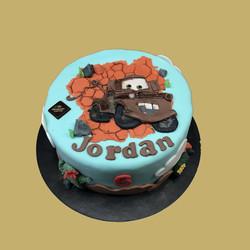 Gâteau d'anniversaire Martin
