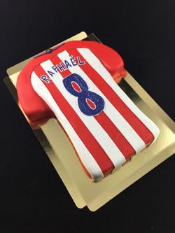 Gâteau d'anniversaire maillot