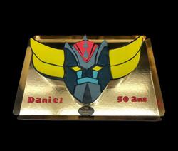Gâteau d'anniversaire goldorak