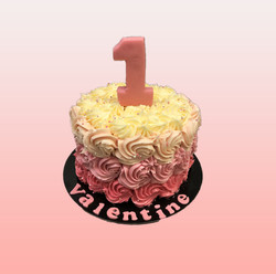 Gâteau d'anniversaire 1 an