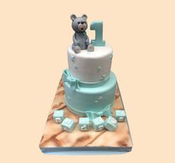 Gâteau d'anniversaire nounours