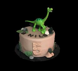 Gateau d'anniversaire dinosaure