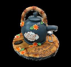 Gâteau d'anniversaire théière