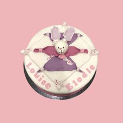 Gâteau d'anniversaire doudou