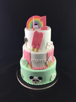 Gâteau d'anniversaire gourmandise