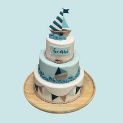 Gâteau Baptêmes Marin