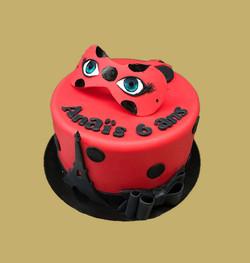 Gâteau d'anniversaire Ladybug