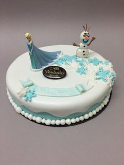 Gâteau d'anniversaire Elsa
