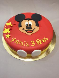 Gâteau d'anniversaire Mickey