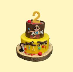 Gâteau d'anniversaire Pinocchio