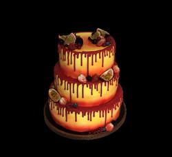 Gâteau d'anniversaire Caraïbe
