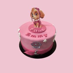 Gâteau d'anniversaire Pat Patrouille