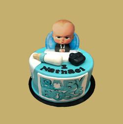 Gâteau d'anniversaire Baby Boss