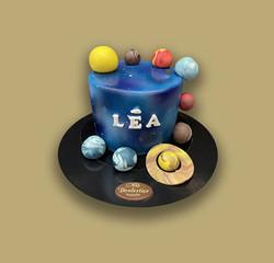 Gâteau d'anniversaire galaxi